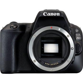 Canon EOS 200D SLR camerabody 24.2MP CMOS 6000 x 4000Pixels Zwart