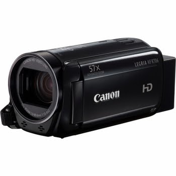 Canon LEGRIA HF R706 FLASH AIR KIT Handcamcorder 3.28MP CMOS Full HD Zwart
