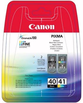 Canon PG-40, CL-41 Black