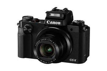 "Canon PowerShot G5 X Compactcamera 20.2MP 1"" CMOS 5472 x 3648Pixels"