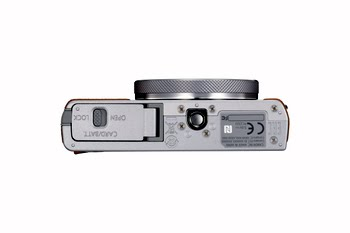 """Canon PowerShot G9 X Mark II Compactcamera 20.1MP 1"""" CMOS 5472 x 3648Pixels Bruin, Zilver"""