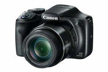 "Canon PowerShot SX540 HS 20.3MP 1/2.3"" CMOS 5184 x 3888Pixels Zwart"