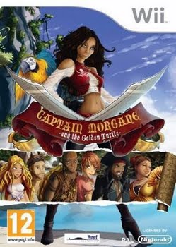 Captain Morgane and the Golden Turtle (Nintendo Wii)