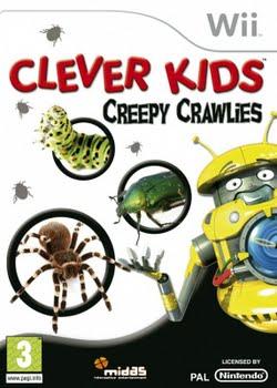 Clever Kids Creepy Crawlies (Nintendo Wii)