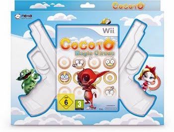 Cocoto Magic Circus + 2 Guns (Nintendo Wii)