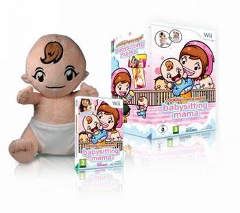 Cooking Mama World Babysitting Mama + Baby Doll (Nintendo Wii)
