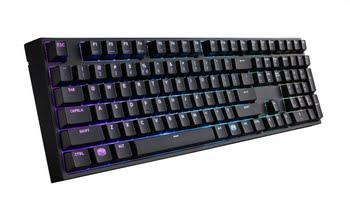 Cooler Master CM Storm Masterkeys Pro L USB QWERTY Engels Zwart toetsenbord