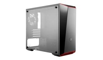 Cooler Master MasterBox Lite 3.1 Mini-Toren Zwart, Rood, Wit computerbehuizing