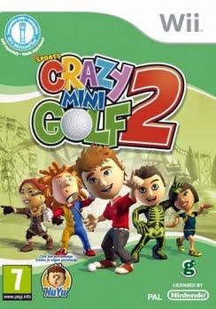Crazy Mini Golf 2 + Golfclub (Bundel) (Nintendo Wii)