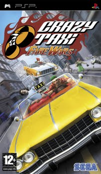 Crazy Taxi Fare Wars (Sony PSP)