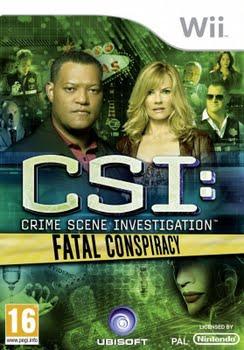 CSI Fatal Conspiracy (Nintendo Wii)