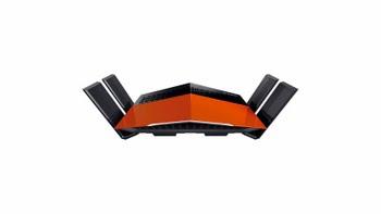 D-Link AC1750 EXO Dual-band (2.4 GHz / 5 GHz) Gigabit Ethernet Zwart, Oranje