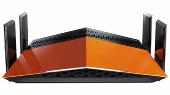 D-Link AC1900 EXO Dual-band (2.4 GHz / 5 GHz) Gigabit Ethernet Zwart, Oranje