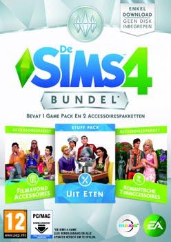De Sims 4 Bundel Pack (film, uit eten, tuin) (PC)