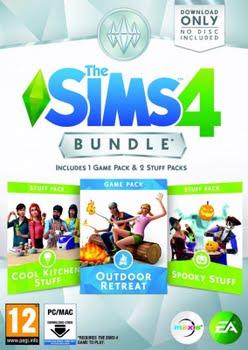 De Sims 4 Bundel Pack (keuken, griezel, natuur) (PC)