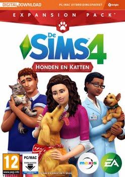 De Sims 4: Honden en Katten (Add-On) (Code in a Box) (PC)
