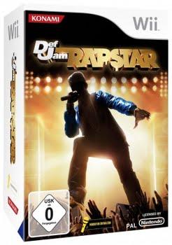 Def Jam Rapstar + Microfoon (Nintendo Wii)