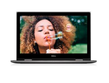 "DELL Inspiron 5578 2.5GHz i5-7200U 15.6"" 1920 x 1080Pixels Touchscreen Zwart, Grijs Hybride (2-in-1)"