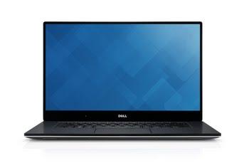 """DELL XPS 9560 2.8GHz i7-7700HQ 15.6"""" 3840 x 2160Pixels Touchscreen Zwart, Zilver Notebook"""
