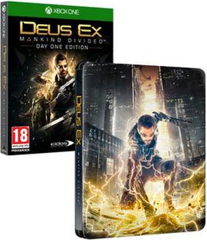 Deus Ex Mankind Divided (Day 1 Edition) (steelbook) (Xbox One)