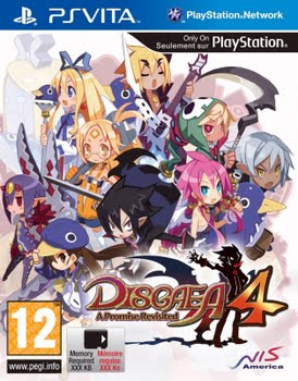 Disgaea 4 a Promise Revisited (PS Vita)