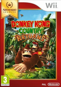 Donkey Kong Country Returns (Nintendo Selects) (Nintendo Wii)