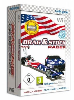 Drag and Stock Racer incl. Steering Wheel (Nintendo Wii)