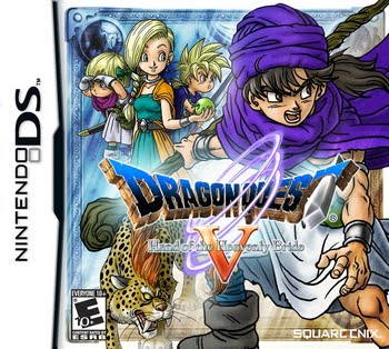 Dragonquest V Hand of the Heavenly Bride (Nintendo DS)