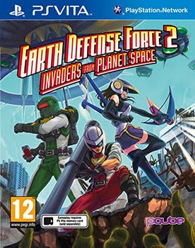 Earth Defense Force 2 Invaders From Planet Space (PS Vita)