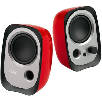 Edifier R12U 2.0 Speaker Set Rood