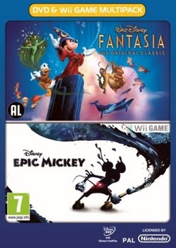 Epic Mickey with DVD (Nintendo Wii)