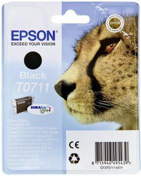 Epson C13T07114022 7.4ml 250pagina's Zwart inktcartridge