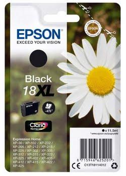 Epson C13T18114012 11.5ml 470pagina's Zwart inktcartridge
