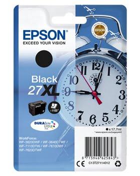 Epson C13T27114012 17.7ml 1100pagina's Zwart inktcartridge