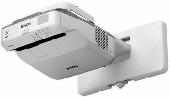 Epson EB-675Wi Projector met wandmontage 3200ANSI lumens 3LCD WXGA (1280x800) Grijs, Wit beamer/projector