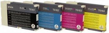 Epson Inkt tank Black T6161 DURABrite Ultra Ink