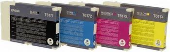 Epson Inkt tank Cyan T6172 DURABrite Ultra Ink (high capacity)