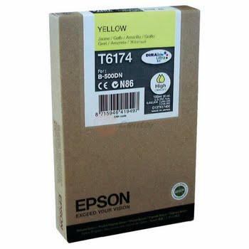 Epson Inkt tank Yellow T6174 DURABrite Ultra Ink (high capacity)