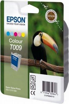 Epson inktpatroon kleur T009