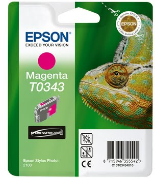 Epson inktpatroon Magenta T0343 Ultra Chrome
