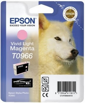 Epson inktpatroon Vivid Light Magenta T0966