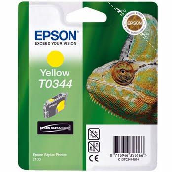Epson inktpatroon Yellow T0344 Ultra Chrome