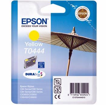 Epson inktpatroon Yellow T0444 DURABrite Ink (high capacity)