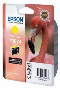 Epson inktpatroon Yellow T0874 Ultra Gloss High-Gloss 2