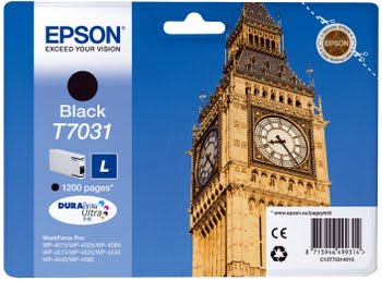 Epson WP4000/4500 Series Ink Cartridge L Black 1.2k