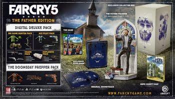Far Cry 5 The Father Edition (+ Pre-order Bonus) (Xbox One)