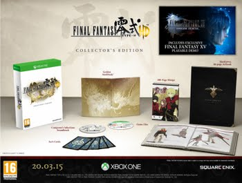 Final Fantasy Type 0 HD Collector's Edition (Xbox One)