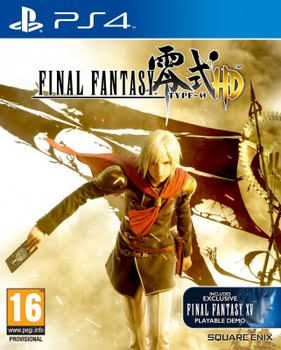 Final Fantasy Type 0 HD Day 1 Edition (PS4)
