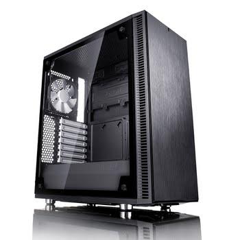 Fractal Design Define C TG Midi-Toren Zwart computerbehuizing
