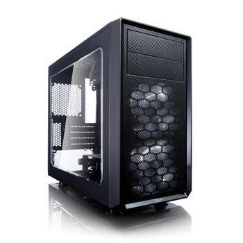 Fractal Design Focus G Mini Mini-Toren Zwart computerbehuizing